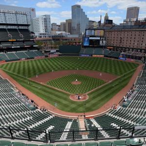 Orioles make history in empty stadium