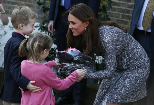 Britain's Catherine, Duchess of Cambridge leaves Hope House addiction treatment centre after an official visit in London