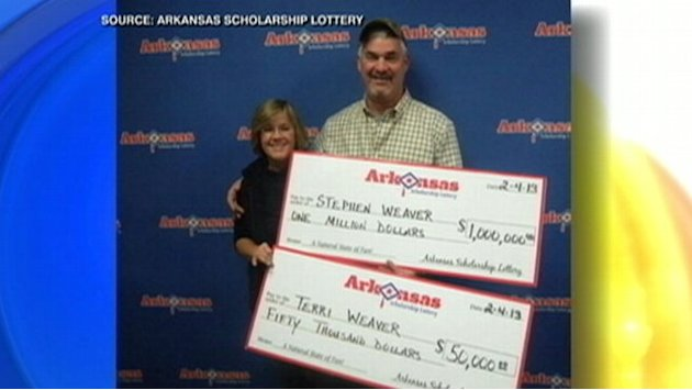 Arkansas Couple Wins Lottery Twice on Fishing Trip