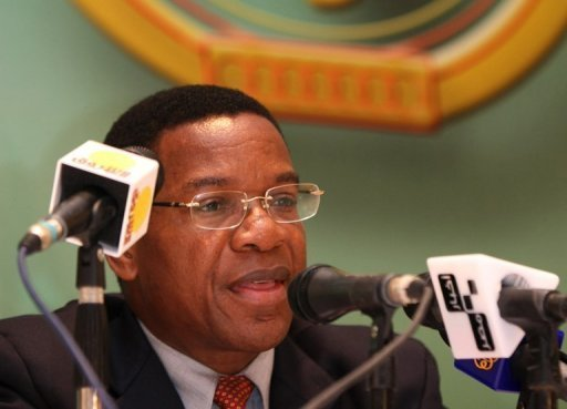 "Tanzania said Thursday it is investigating US accusations it reflagged Iranian oil tankers to help Tehran evade US and EU sanctions. ""If we confirm that there are Iranian ships flying Tanzania's flag, we are going to obliterate the registration,"" Foreign Minister Bernard Membe (pictured in 2008) told reporters"