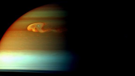 Monster Saturn Storm Fizzled by Choking On Own Tail