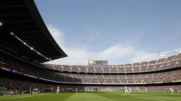 The Camp Nou (Reuters)