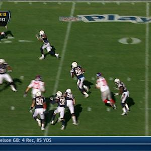 San Diego Chargers linebacker Donald Butler interception