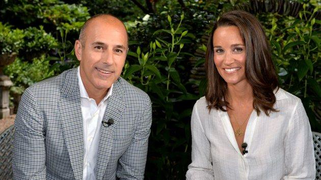 'Today's' Matt Lauer with Pippa Middleton, June 2014 -- NBC