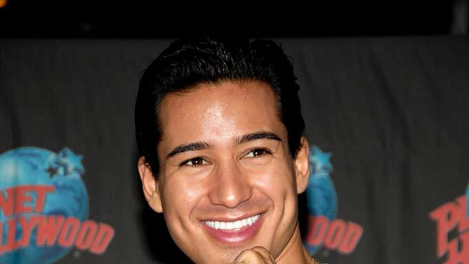 "Mario Lopez promotes his Broadway debut in ""A Chorus Line"" at Planet Hollywood, Times Square April 25, 2008 in New York City."