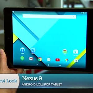 Take a closer look at the sleek Google Nexus 9 tablet