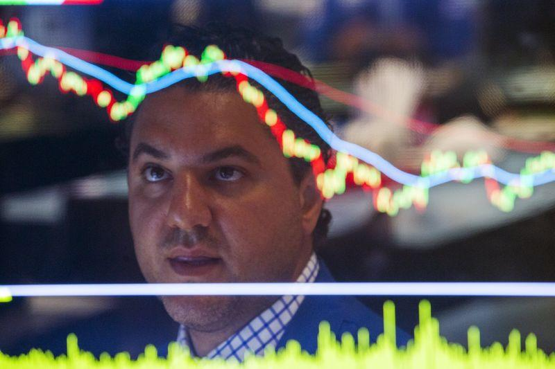 Wall St. ends down as China data sparks global growth fears