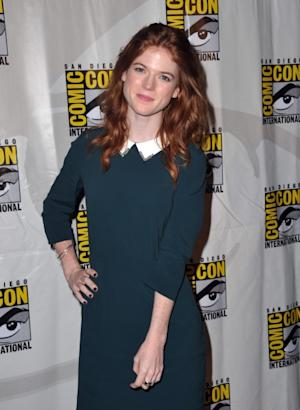 Rose Leslie attends HBO's 'Game Of Thrones' Panel during Comic-Con International 2012 at San Diego Convention Center on July 13, 2012 -- Getty Images