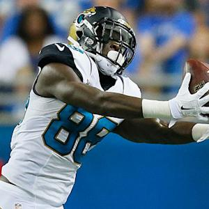 Jacksonville Jaguars wide recevier Allen Hurns Preseason Week 3 highlights