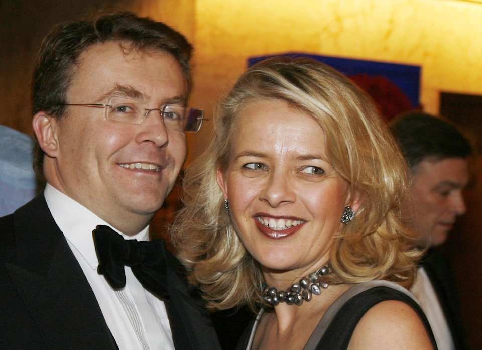 FILE - In this Dec. 10, 2008 file photo Dutch Prince Johan Friso, left, and his wife Mabel, right, arrive for a gala dinner at the Grand Hotel in Oslo, Norway. The Dutch royal house on Monday Aug. 12, 2013 announced that Prince Johan Friso, injured in 2012 ski accident, has died. (AP Photo/John McConnico, File)
