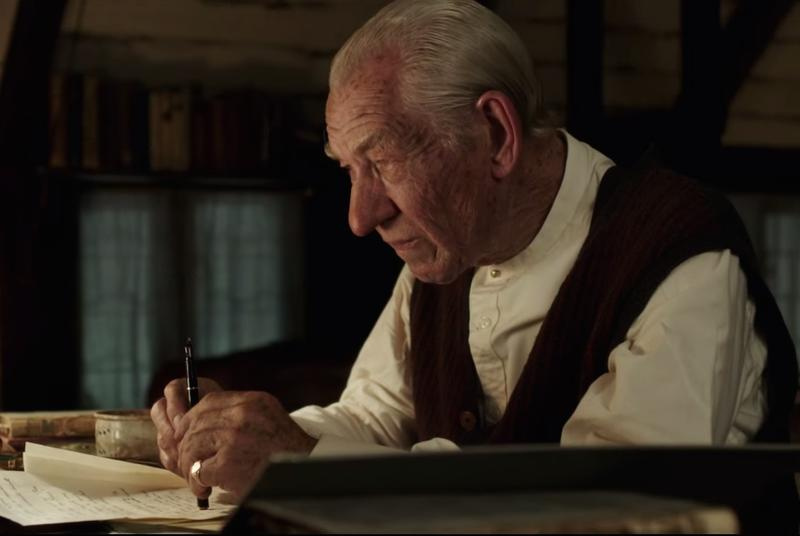 Gandalf is Sherlock in the new trailer for Mr. Holmes