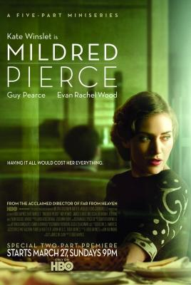 "Kate Winslet in the poster for HBO's ""Mildred Pierce,"" which debuts on the network on March 27, 2011 -- HBO"