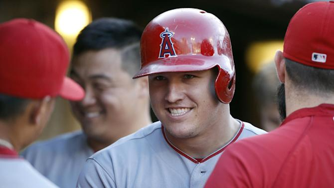 Hamilton powers Angels past A's
