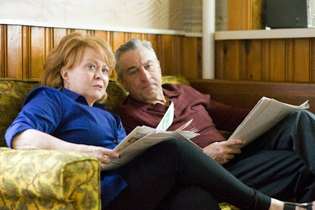 This film image released by The Weinstein Company shows Jacki Weaver, left, and Robert De Niro in &quot;Silver Linings Playbook.&quot; (AP Photo/The Weinstein Company, JoJo Whilden)