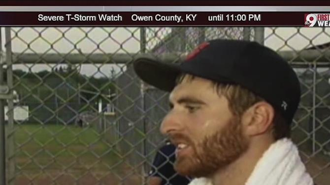 First openly gay professional baseball player pitches a shutout