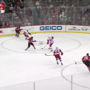 Petr Mrazek Save on Mike Cammalleri (15:40/1st)