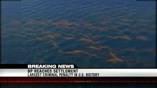 BP reaches $4.5B settlement over criminal charges in 2010 oil spill