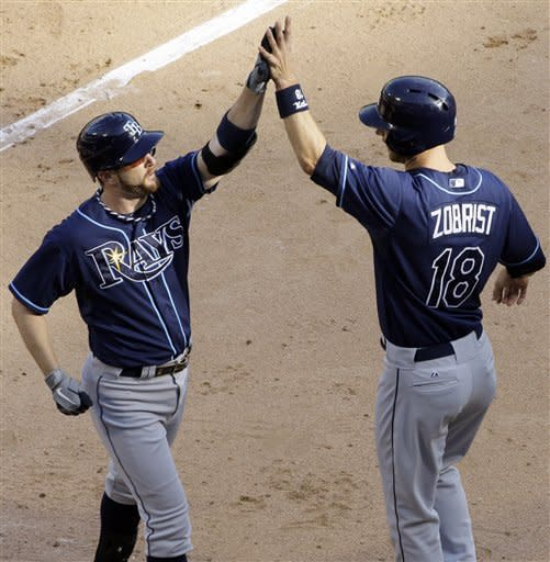 Rays' 4 HRs back Moore in 10-4 win over White Sox