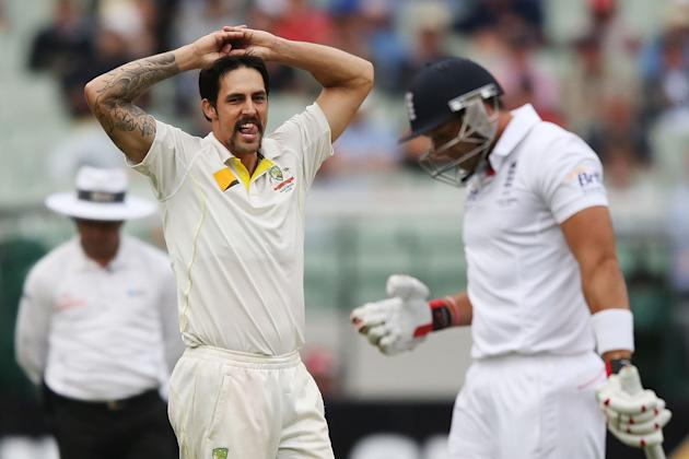 Australia v England - Fourth Test: Day 1