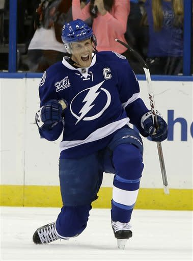 Purcell, St. Louis key Tampa Bay's 5-1 win