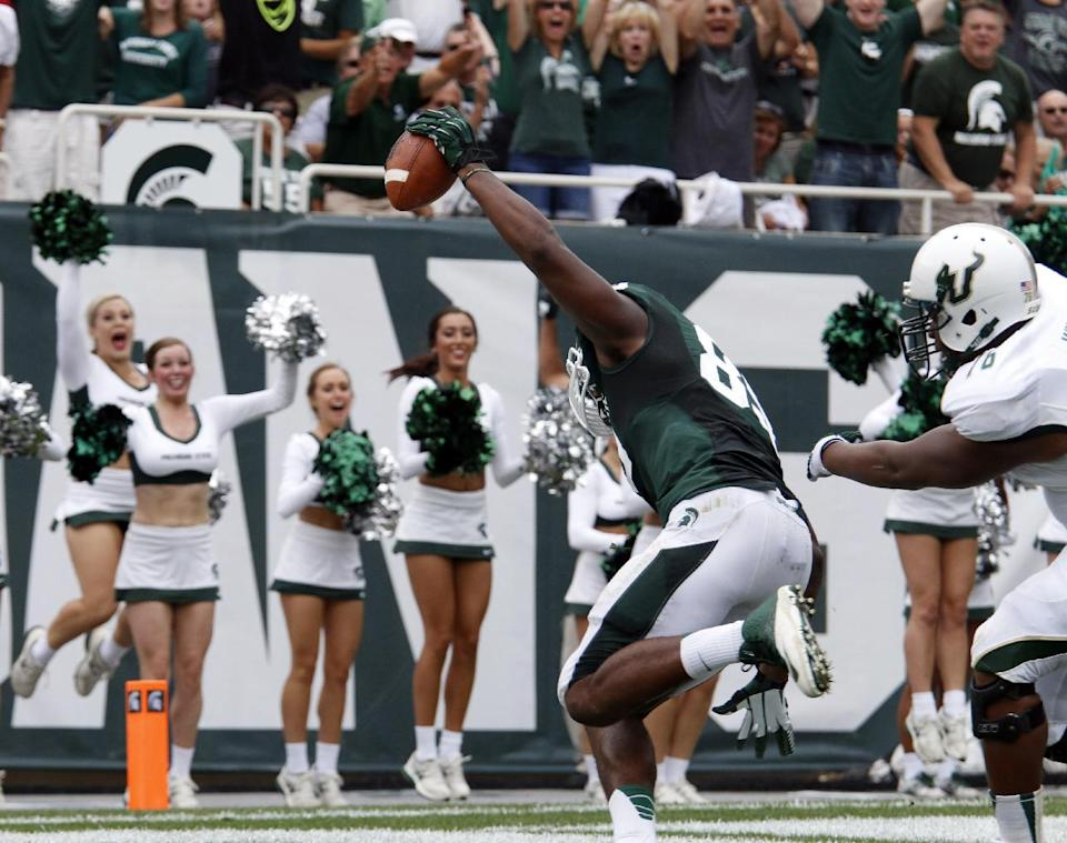 Michigan State shuts down South Florida 21-6