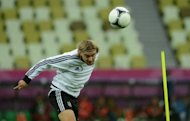 Borussia Dortmund coach Jurgen Klopp has backed defender Marcel Schmelzer, seen here in June 2012, to bounce back against Bayer Leverkusen in the Bundesliga on Saturday after his poor performance for Germany in midweek