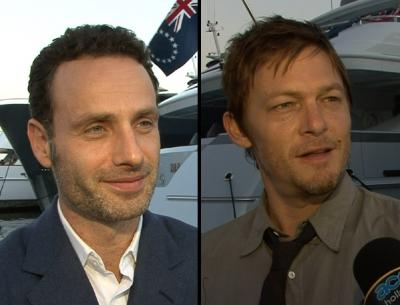 Andrew Lincoln, Norman Reedus -- Access Hollywood