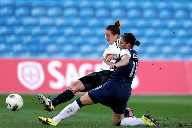 Germany v USA - Algarve Cup 2013