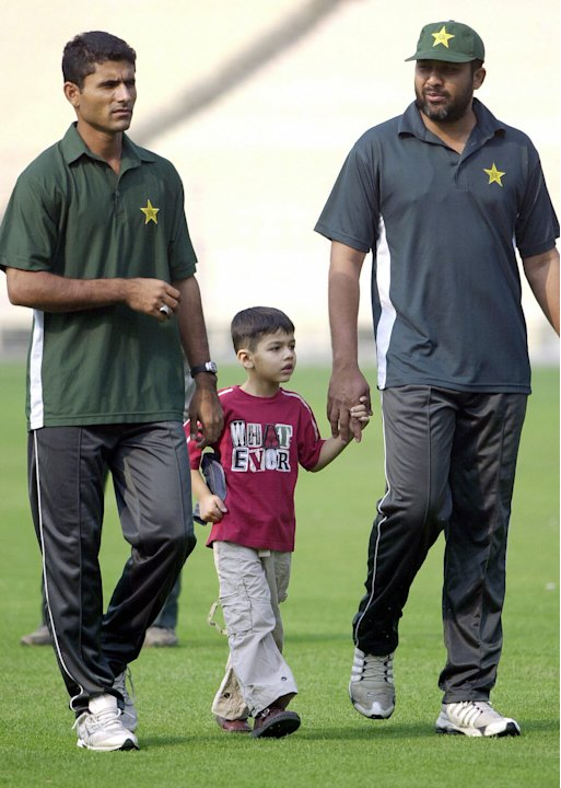 Pakistan cricket captain Inzamam-ul-Haq