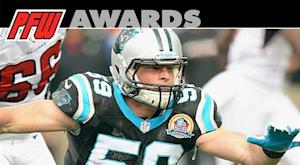 Kuechly wins PFW/PFWA Defensive Rookie of the Year