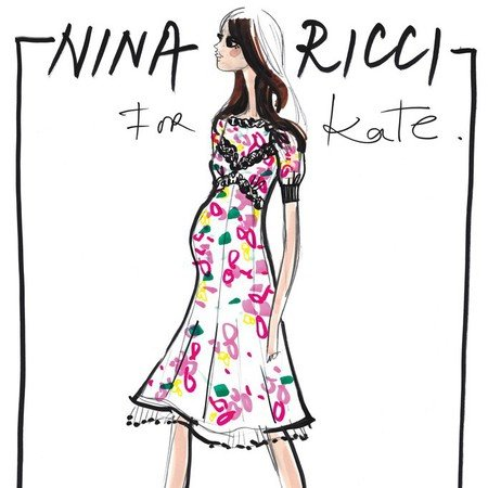 Designers sketch ideas for pregnant Kate Middleton's maternity wardrobe