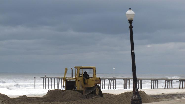 Study: NJ beaches 30-40 feet narrower after storm