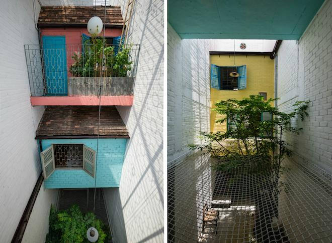 Skinny Houses : Wild Vietnam Home Squeezes a Bunch of Tiny Houses into a 10-Foot-Wide Lot