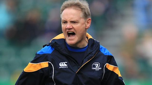 Leinster Rugby's head coach Joe Schmidt