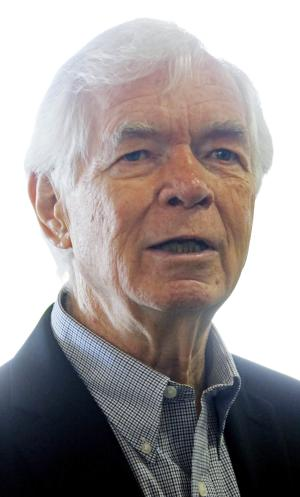FILE - In this April 25, 2014 file photo, S. Sen. Thad Cochran, R-Miss., addresses a group of employees at Dunlap & Kyle Tire Company, a wholesale and retail tire dealer in Batesville, Miss. Cochran is being challenged by second-term state Sen. Chris McDaniel in the June 3 Republican primary. (AP Photo/Rogelio V. Solis, File)
