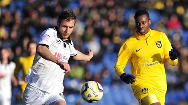 Port Vale striker Tom Pope had a big hand in former club Rotherham's downfall at Vale Park