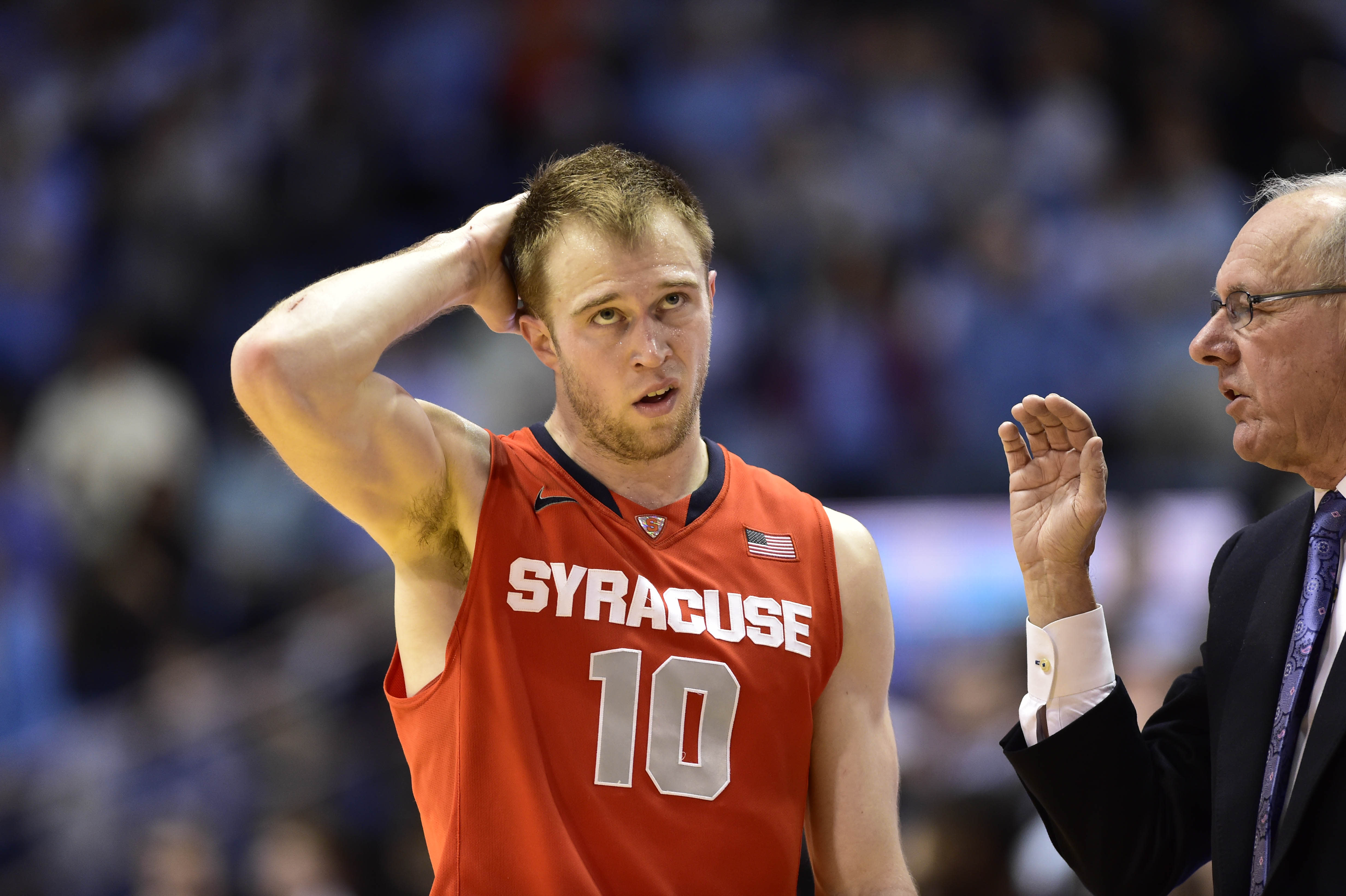 An NCAA tournament without Syracuse is becoming increasingly likely