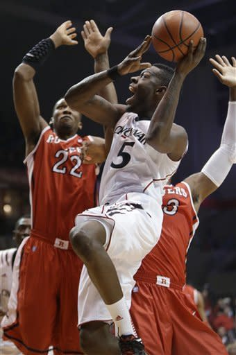 Kilpatrick leads No. 24 Cincy over Rutgers 62-54