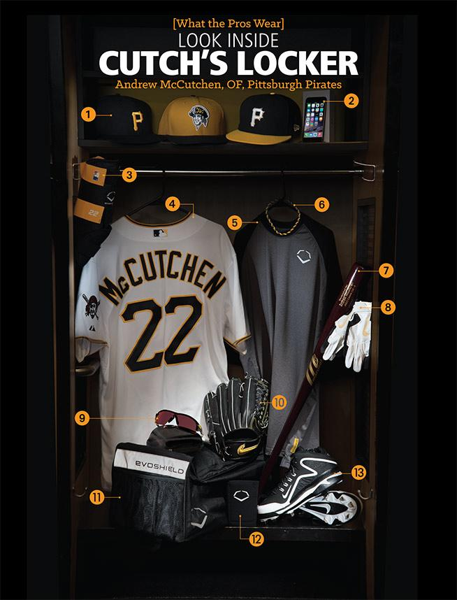 Look Inside Andrew McCutchen's Locker