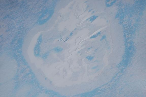 Melting, Not Meteorite, Caused East Antarctica Crater