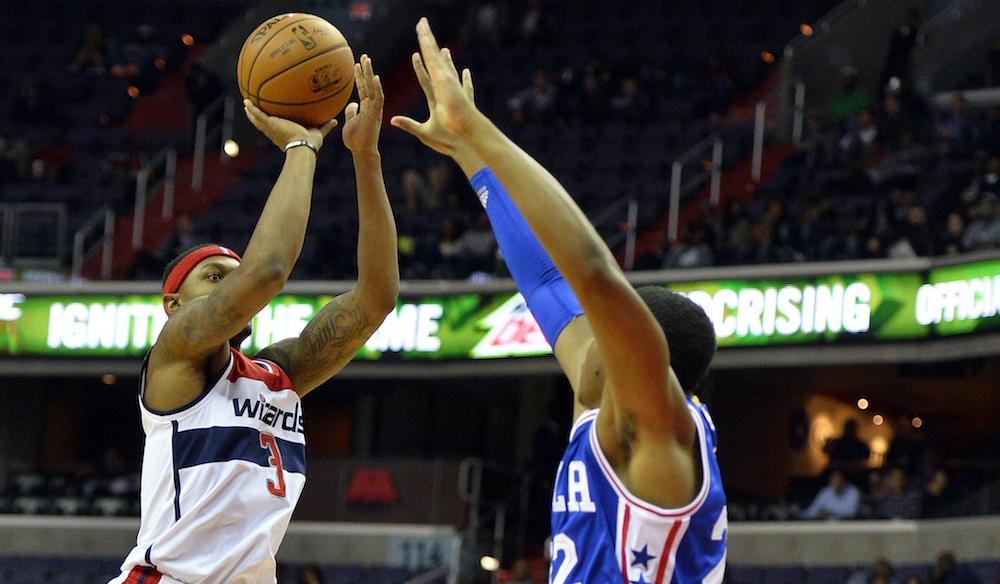 Bradley Beal recovers from having his bells rung