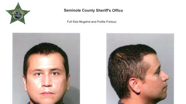 In this handout composite provided by the Seminole County Sheriff's Office, George Zimmerman poses for a mugshot photo following his surrender to authorities at John E. Polk Correctional Facility (JEPCF) after he had his bond was revoked because of allegedly misleading the court about his finances June 3, 2012 in Sanford, Florida. George Zimmerman who claims he was acting in self defense has been charged with the murder of unarmed teenager Trayvon Martin. (Photo by Seminole County Sheriff's Office via Getty Images)