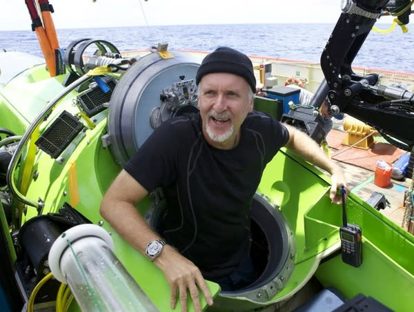 James Cameron Relives Voyage to Ocean's Deepest Spot