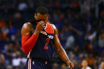 The Wizards are fading fast