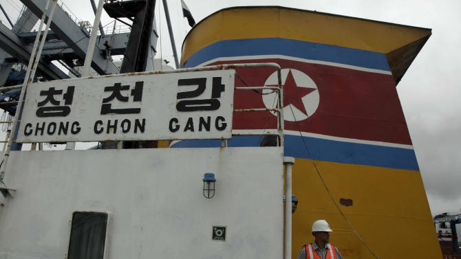 Panama to decide fate of NKorean ship crew