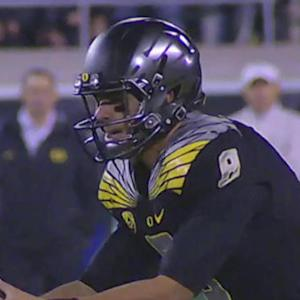 What will Oregon quarterback Marcus Mariota struggle with at NFL level?