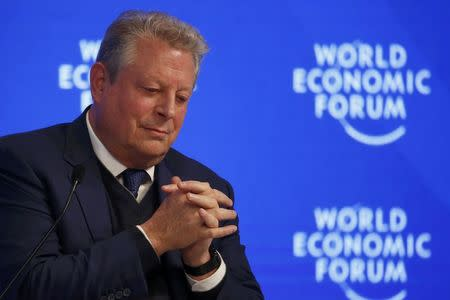 Al Gore rouses Sundance with climate film on eve of Trump induction