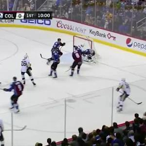 Semyon Varlamov Save on Ben Lovejoy (10:01/1st)