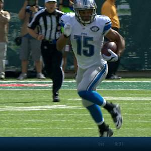 Week 4: Detroit Lions wide receiver Golden Tate highlights