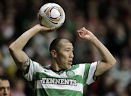 Celtic's South Korean defender Cha Du-Ri, pictured in action at the Celtic Park, in Glasgow, in 2011. Celtic defeated Motherwell 3-0 at Fir Park on Sunday, with Cha scoring the 3rd goal of the match for the visitors
